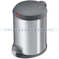 Treteimer Hailo Hailo T1 M Tret-Abfallsammler silber 11 L