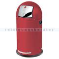 Treteimer Hailo KickMaxx® 35 L Stahl signalrot