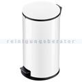 Treteimer Hailo Pure L Tret-Abfallsammler weiß 25 L