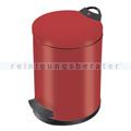 Treteimer Hailo T2. 13 L Stahl rot