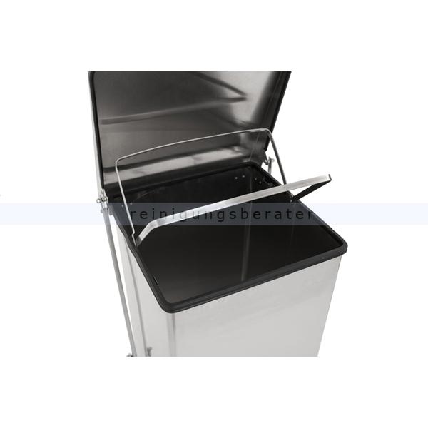 treteimer industrieller tritt m lleimer edelstahl matt 90 l. Black Bedroom Furniture Sets. Home Design Ideas