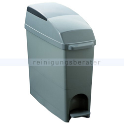 Treteimer Orgavente BASICA Mülleimer grau 18 L