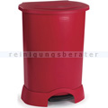 Treteimer Rubbermaid 114 L rot