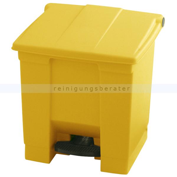 treteimer rubbermaid 30 l gelb. Black Bedroom Furniture Sets. Home Design Ideas