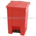 Treteimer Rubbermaid 45 L rot
