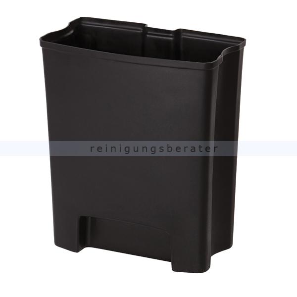treteimer rubbermaid inneneimer slim jim schwarz 30 l. Black Bedroom Furniture Sets. Home Design Ideas
