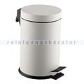 Treteimer Simex Stahl weiß epoxy 12 L