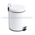 Treteimer Simex Stahl weiß epoxy 3 L