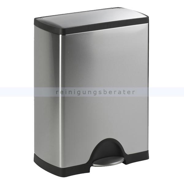 simplehuman rechteckiger treteimer 30 l edelstahl cw1884. Black Bedroom Furniture Sets. Home Design Ideas