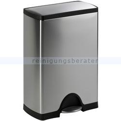 simplehuman rechteckiger treteimer 50 l edelstahl cw1816. Black Bedroom Furniture Sets. Home Design Ideas