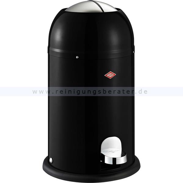 Treteimer Wesco KICKMASTER JUNIOR 12 L schwarz