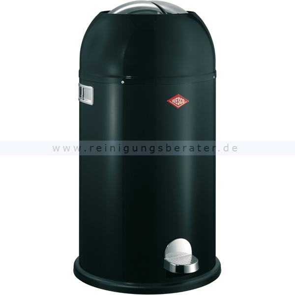 Treteimer Wesco Kickmaster Soft 33 L schwarz