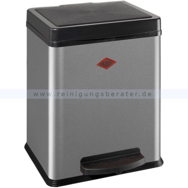 Treteimer Wesco Öko-Sammler 380 1 x 20 L silber