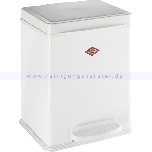 Treteimer Wesco Öko-Sammler 380 1 x 20 L weiß