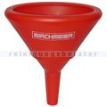 Trichter Birchmeier oval rot 19x12,5x21 cm