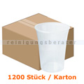 Trinkbecher, Bierbecher transparent 0,4 L 1200 Stück