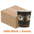 Trinkbecher, Kaffeebecher Beans klein 0,24 L 1000 Stück