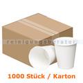 Trinkbecher klein für Warmgetränke weiß 0,24 L 1000 Stück