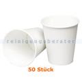Trinkbecher klein für Warmgetränke weiß 0,24 L 50 Stück