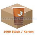 Trinkbecher NatureStar BIO Pappe 1-wandig 200 ml 1000 Stück