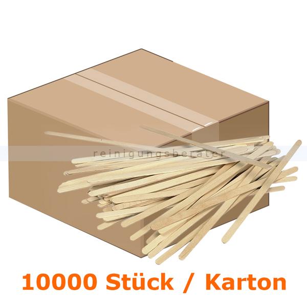 abenagastroline Trinkbecher Rührstäbchen Holz 14 cm 10.000 Stück Holzrührstäbchen im Karton 5598