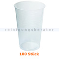 Trinkbecher transparent 0,3 L mit Rillen im Pack 100 Stück