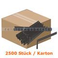 Trinkhalme mit Knick schwarz 24 cm Ø 6 mm, 2500 Stück