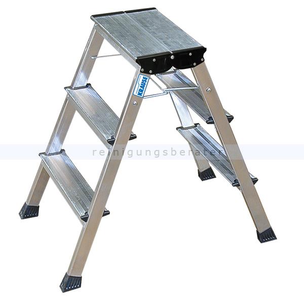 klapptritt krause trittleiter rolly 2x3 stufen. Black Bedroom Furniture Sets. Home Design Ideas