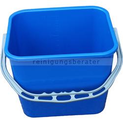 TTS Eimer, Putzeimer für Reinigungswagen 12 L blau