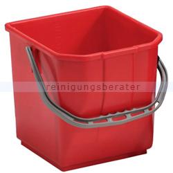 TTS Eimer, Putzeimer für Reinigungswagen 25 L rot