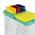 Zusatzbild TTS Eimer, Putzeimer für Reinigungswagen 4 L blau