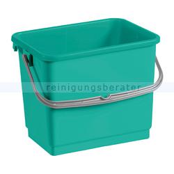 TTS Eimer, Putzeimer für Reinigungswagen 4 L grün