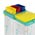 Zusatzbild TTS Eimer, Putzeimer für Reinigungswagen 4 L grün