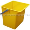 TTS Eimer, Putzeimer für Reinigungswagen 6 L gelb