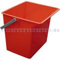 TTS Eimer, Putzeimer für Reinigungswagen 6 L rot