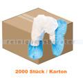 Überschuhe Hygonorm Eco Cast Polyethylen blau 2000 Stück