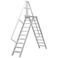 Überstieg Hymer stationär oder fahrbar 6 Stufen 800 mm 60°