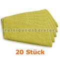 Ultra-Microfasertuch TASKI Jonmaster Ultra cloth Gelb