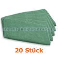 Ultra-Microfasertuch TASKI Jonmaster Ultra cloth Grün