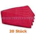 Ultra-Microfasertuch TASKI Jonmaster Ultra cloth Rot