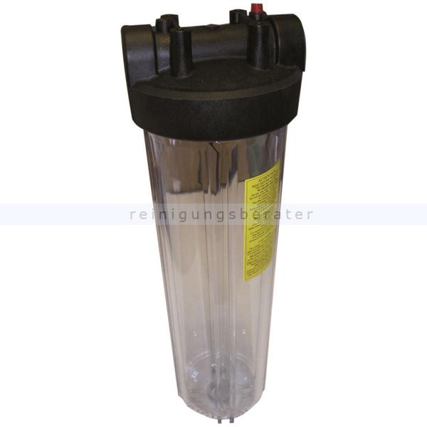 Unger 17195 HiFlo Harzfilter Gehäuse transparent RO/DI140 Ersatzteil für Unger HiFlo RO Filtersystem Harzfilter
