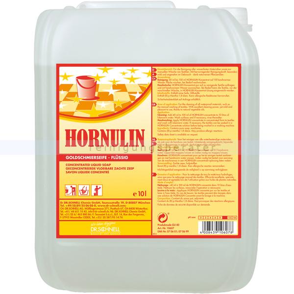 Dr. Schnell HORNULIN 10 L Universalreiniger aus naturreinen Pflanzenölen 10607