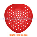 Urinalsieb, Urinaleinlage Shield Strawberry, Duft Erdbeere