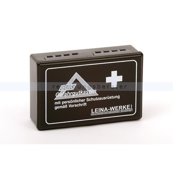 Leina Werke Verbandskasten Leina ADR Gefahrgutkasten PP-Kunststoff mit Gummidichtung 40002