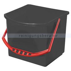 Vermop Eimer grau/rot 17 L