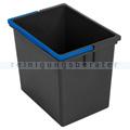 Vermop Eimer, Kunststoffeimer grau/blau 17 L