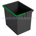 Vermop Eimer, Kunststoffeimer grau/grün 17 L
