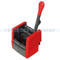 Vermop Presse VK 4 für Flachmop und Fransenmop, rot