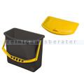 Vermop Tuboxx Eimer, Kunststoffeimer inkl. Deckel gelb