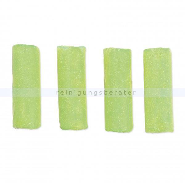 ReinigungsBerater Verschlussstopfen Abfluss-Fee Duftstein Apfel/Zitrone im 4er Set, für Verschlussstopfen Abfluss-Fee 00001200605